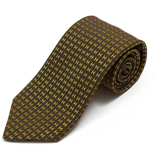 エルメスのネクタイ