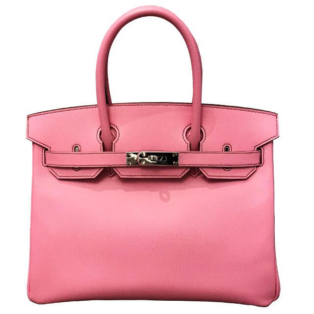 エルメスのバーキン30 ピンク