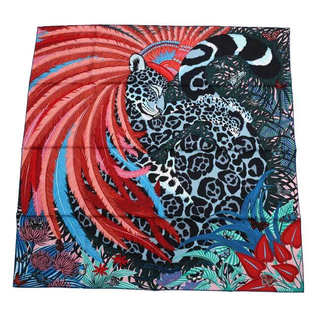 エルメスのカレ・スカーフ